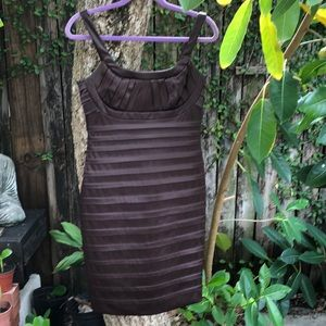 Calvin Klein elegant brown dress size 6
